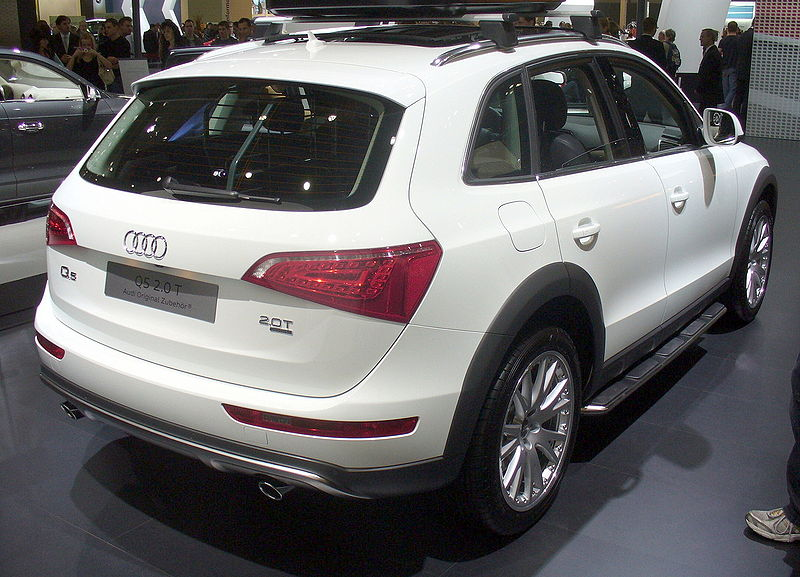 file audi q5 offroad style heck jpg wikimedia commons. Black Bedroom Furniture Sets. Home Design Ideas