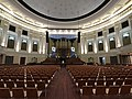 Auditorium at the Brisbane City Hall set up for a concert.jpg