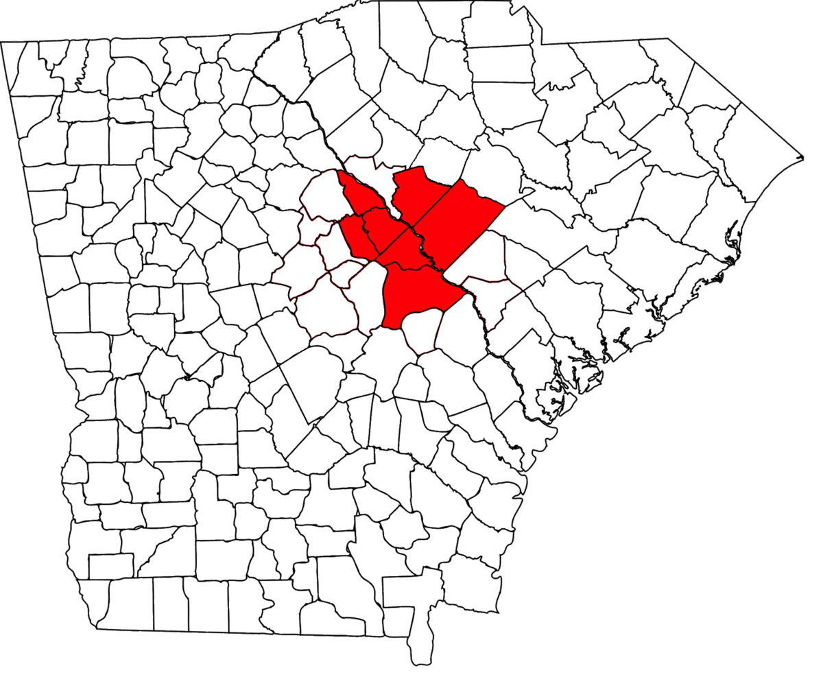Augusta metropolitan area - Wikipedia on augusta county virginia zip code map, augusta ga map, augusta georgia,