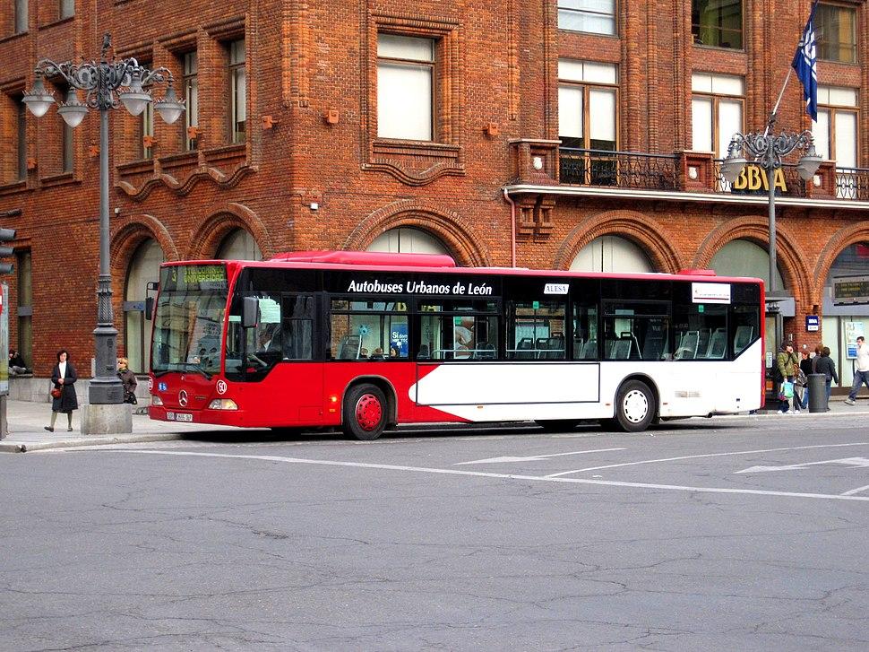 Autobús urbano de León
