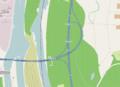 Autobahndreieck Neuenburg der deutschen A5 mit der französischen A36.png
