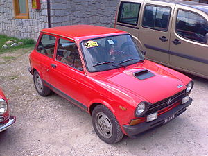 Autobianchi A112 - A112 Abarth of the fourth generation