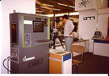 سیستم اولیه ماشین بینایی Autovision II که در سال ۱۹۸۳ در یک نمایشگاه تجاری به عرضه گذاشته شد.