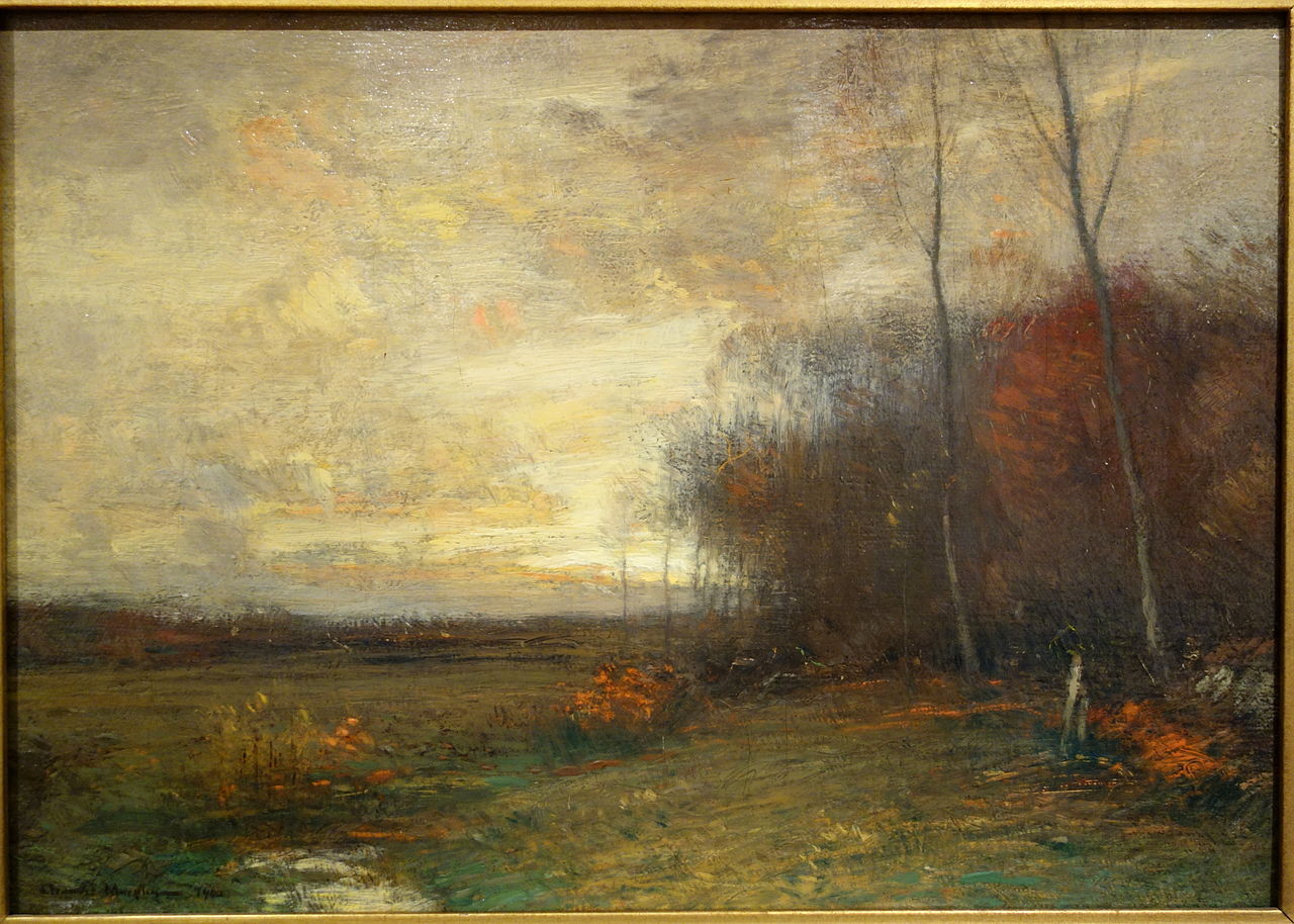 Antique Oil Paintings On Canvas