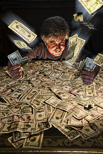 Greed - Avarice  (2012), by  Jesus Solana