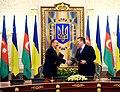 Azerbaijan-Ukraine documents signed, 2010 02.jpg