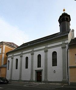 Bürgerspittalskirche in Klagenfurt.JPG