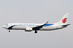 B-5850 - Dalian Airlines - Boeing 737-89L(WL) - PEK (14107490246).jpg
