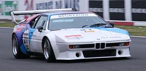 BMW M1 Procar Championship - A Procar M1 driven by Clay Regazzoni for the BMW Motorsport team