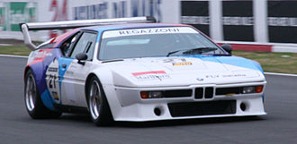 BMW M1 Procar Championship - A Procar M1 driven by Clay Regazzoni for the BMW Motorsport team