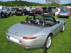 BMW Z8 - BMW Z8 rear view
