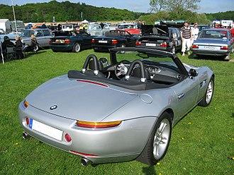 BMW Z8 - BMW Z8 (rear view)