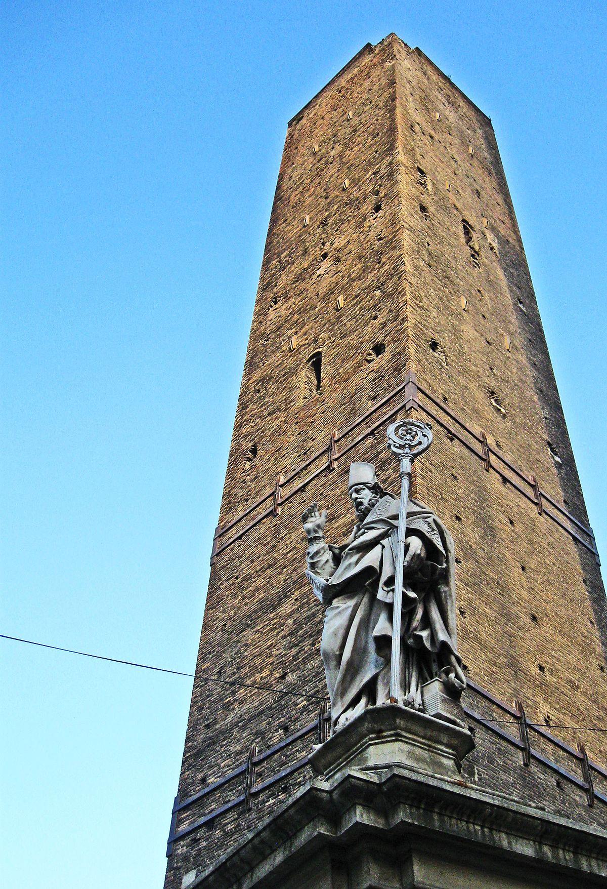 foto de Torre della Garisenda Wikipedia