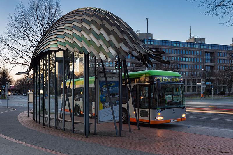 Datei Busstop Braunschweiger Platz Bult Hannover Germany
