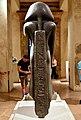 Back pillar. Praying statue of Amenemhat III, from Memphis, Egypt, c. 1840-1800 BCE. Neues Museum, Berlin, Germany.jpg