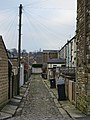 Back street off Maud Street, Barrowford - geograph.org.uk - 696864.jpg