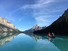 Backcountry canoe trip on Malign Lake.jpg
