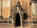 Bagan, Myanmar, Entrance door of Htilominlo Temple.jpg