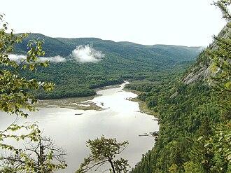 Saguenay Fjord National Park - Image: Baie Éternité