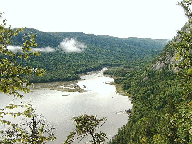 Saguenay Fjords in northern Quebec