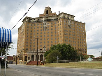 Baker Hotel in Mineral Wells, TX