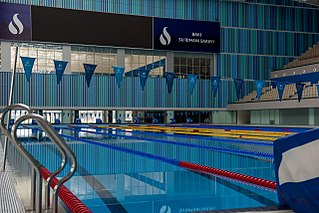 Olympic-size swimming pool olympic swimming pool