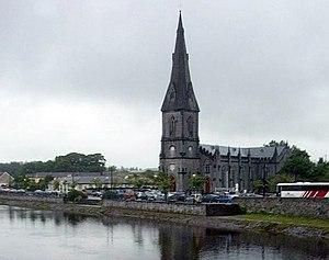 Ballina, County Mayo - Image: Ballina St Murdack Cathedral