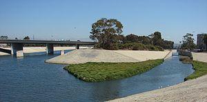 Ballona Creek - Image: Ballona Centinela