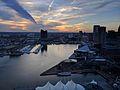 Baltimore Inner Harbor sunset.jpg