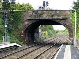 Bangor West railway station in 2008.jpg