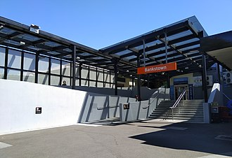 Bankstown railway station - Northern entrance