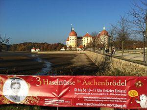 """Tři oříšky pro Popelku - exhibition about """"Drei Haselnüsse für Aschenbrödel"""" in Moritzburg, Germany"""
