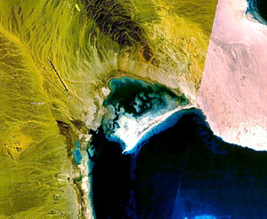 Berenice Troglodytica - Satellite image of Berenice Troglodytica, on Red Sea coast