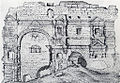 Barbarathermen Trier Ortelius Vivianus 1584.jpg