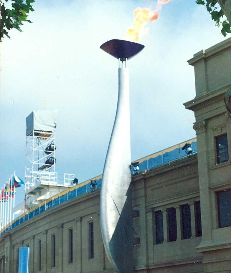 Barcelona AUGUST 1992 the Olympic Games (Juegos Olímpicos de Barcelona 1992) - panoramio