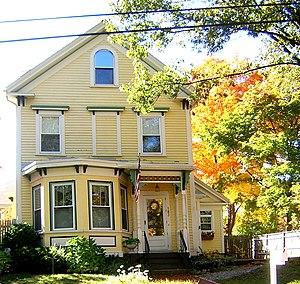 Barnes House (Quincy, Massachusetts) - Image: Barnes House Quincy MA