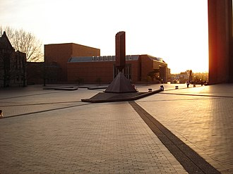 Barnett Newman - Broken Obelisk in the University of Washington's Red Square