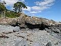 Basalt and beach - geograph.org.uk - 2087476.jpg