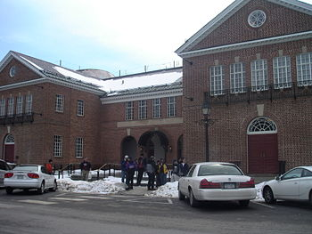 The Entrance to the Baseball Hall of Fame.