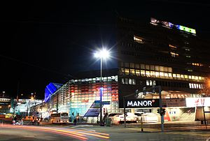 Manor (department store) - Manor in Basel's St. Jakob-Park.