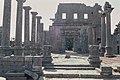Basilica Complex, Qanawat (قنوات), Syria - East part- view through atrium to southern façade - PHBZ024 2016 1228 - Dumbarton Oaks.jpg