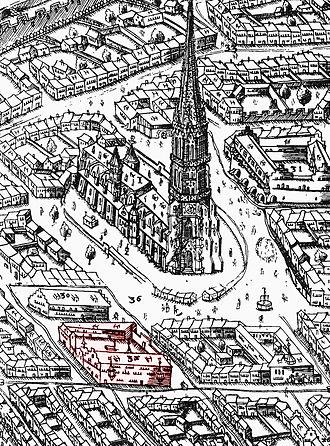 Konrad Stürtzel - Stürtzels residence in Freiburg 1589 (later called 'Basler Hof')