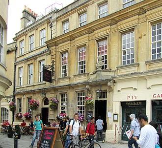 Theatre Royal, Bath - The Garrick's Head on St John's Close
