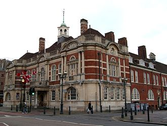 Metropolitan Borough of Battersea - Image: Battersea Arts Centre, Lavender Hill, SW11 (3324322940)
