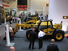 Bauma 2007 Telescopic Handler Caterpillar 2.jpg