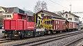 Bauzug mit Tm 234 200 im Bahnhof Altnau TG.jpg