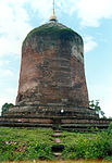 Bawbawgyi Pagoda at Sri Ksetra, prototype of Pagan-era pagodas.