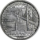 San Francisco–Oakland Bay Bridge half dollar