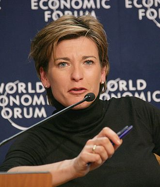 Becky Anderson - Anderson at the 2006 World Economic Forum meeting in Davos