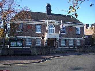 Broxtowe - Beeston Town Hall, together with the Council Offices also on Foster Avenue in the town, is the Borough Council's HQ